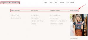 e-commerce store example