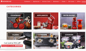 wonderchef e-store example