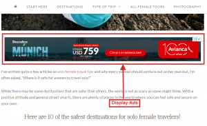example of google display ads