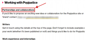 Collaboration example