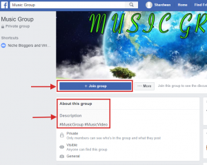 Music Group example