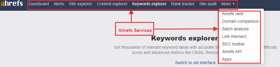 Ahrefs Services