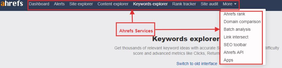 Ahrefs Services