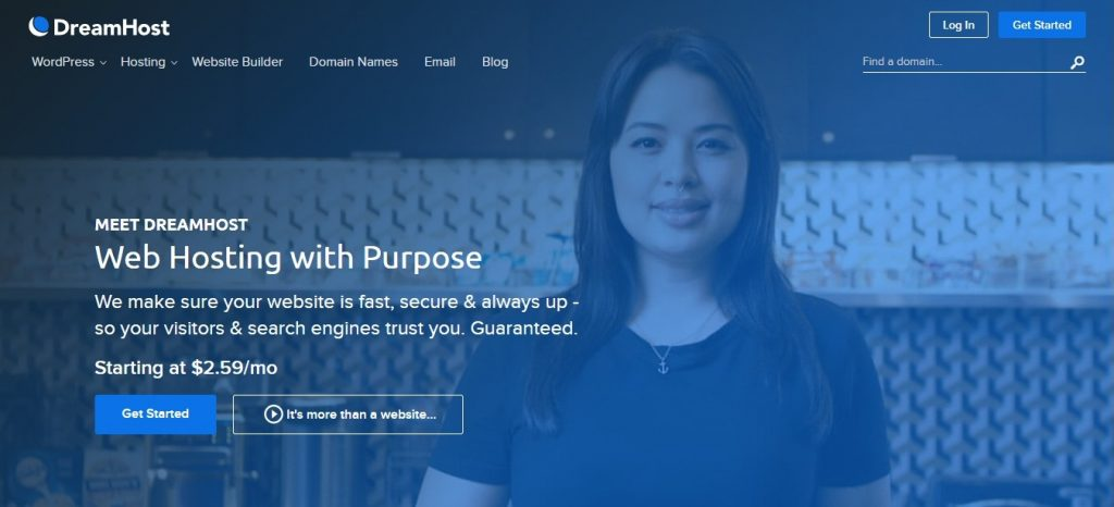 DreamHost Web Shared Hosting Review
