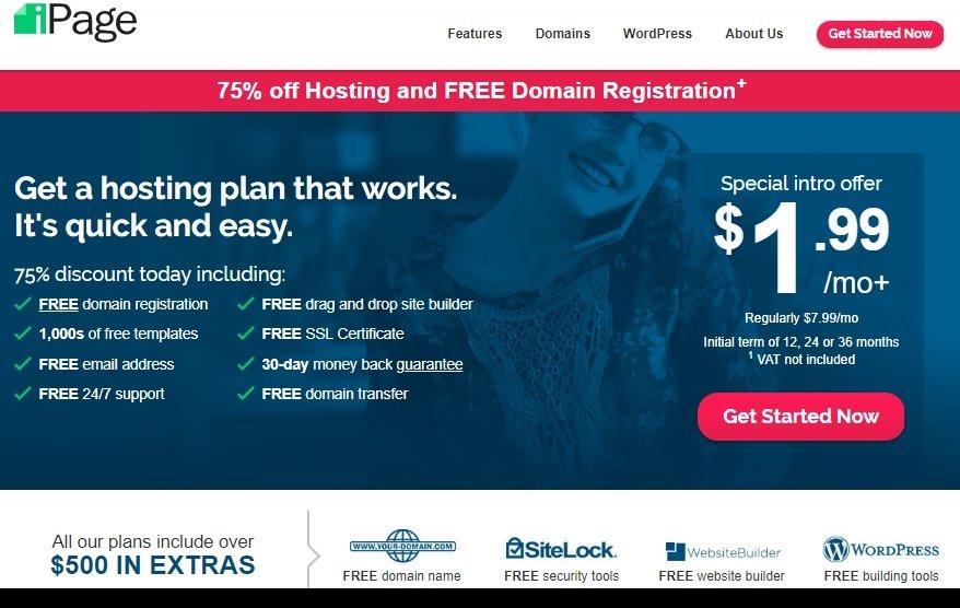 iPage Hosting Plans
